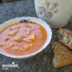 Ciorba de dovlecei cu lapte / Courgette buttermilk sour soup