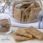 Crackers cu susan si chimen/ Cumin sesame crackers