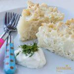 Budinca usoara de conopida / Light cauliflower casserole