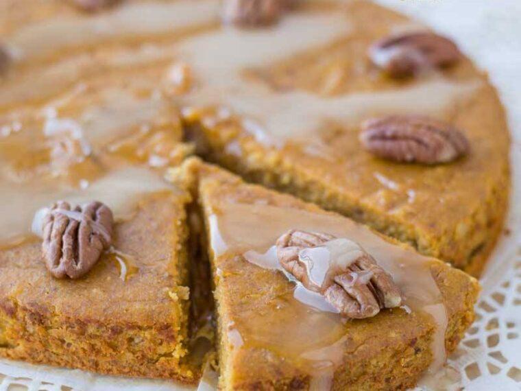 Prajitura cu dovleac si migdale / Almond pumpkin cake