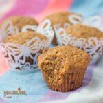 Briose vegane cu caramel / Vegan caramel muffins