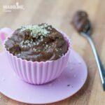 Budinca de ciocolata cu roscove / Carob chocolate pudding