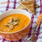 Supa crema de morcovi / Cream of carrot soup