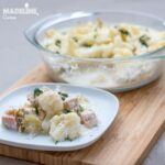 Placinta de somon, praz si conopida / Salmon, leek & cauliflower pie