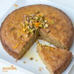 Prajitura cu malai si portocale / Orange polenta cake