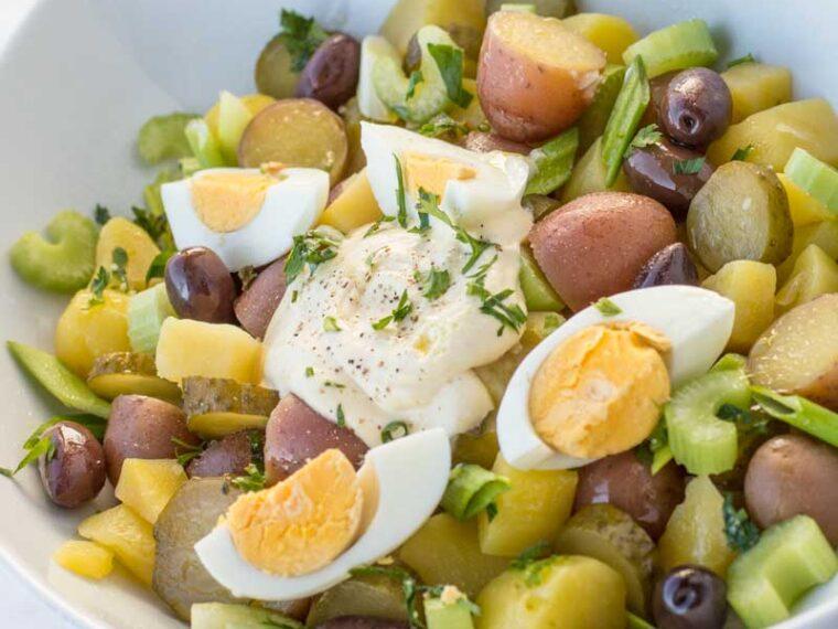 Cea mai buna salata de cartofi / Best potato salad
