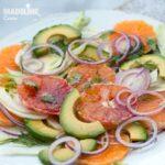 Salata de fenicul si portocale / Fennel & orange salad