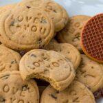 Fursecuri cu stafide si caramel / Caramel raisin cookies