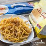 Paste cu pesmet fara gluten / Gluten-free breadcrumbs pasta