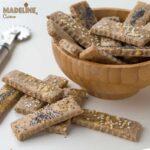Saratele cu branza, fara gluten / Gluten-free cheese crackers