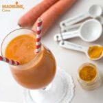 Suc de morcov, ananas si turmeric / Carrot, pineapple & turmeric juice