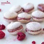 Macarons cu zmeura / Raspberry macarons