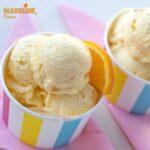 Inghetata de portocale / Orange ice cream