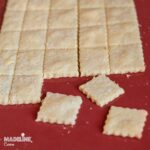Crackers cu parmezan / Parmezan crackers
