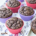 Briose low carb cu ciocolata / Low carb chocolate muffins