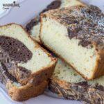 Chec low carb cu cacao / Low carb cocoa pound cake