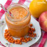 Suc de mere, portocale si catina / Apple, orange & seabuckthorn juice