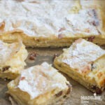 Placinta cu branza dulce si stafide / Cottage cheese raisin pie