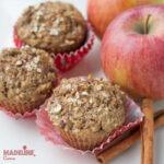 Briose cu mere pentru copii / Toddler apple muffins