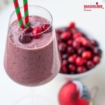 Smoothie de mere si merisoare / Apple cranberry smoothie