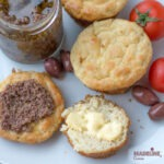 Chifle low carb cu branza / Low carb cheese buns
