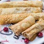 Clatite din faina de migdale / Almond flour crepes