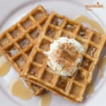 Gaufre low carb cu scortisoara / Low carb cinnamon waffles