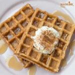 Gaufre low carb cu scortisoara / Low carb cinnamon waffles
