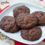 Fursecuri low carb cu ciocolata / Low carb chocolate cookies