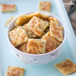 Saratele low carb cu mac / Low carb poppy seed crackers