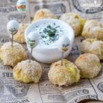 Crochete de cartofi la cuptor / Baked potato balls