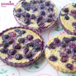 Budinca de cuscus cu afine / Blueberry couscous bake