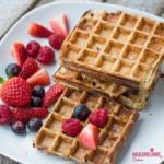 Friganele gaufre / French toast waffles