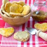 Biscuiti sarati cu mustar / Mustard crackers