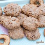 Biscuiti cu mere uscate / Dried apple cookies