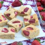 Pandispan cu capsuni fara zahar / Sugar-free strawberry sponge cake
