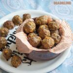 Chiftelute de curcan la cuptor / Baked turkey meatballs