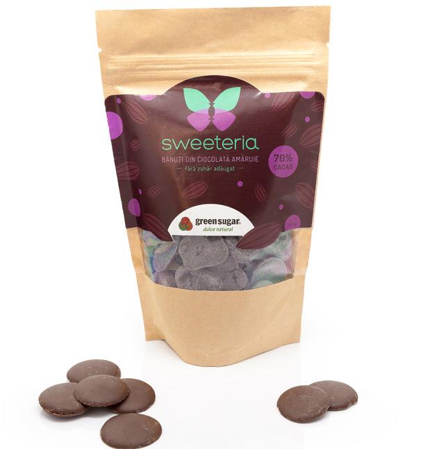 banuti de ciocolata amaruie Sweeteria