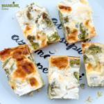 Budinca de broccoli si branza / Broccoli cheese casserole