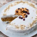 Tort de mere de post / Vegan apple cake