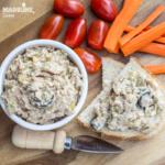 Pasta de ton si castraveti murati / Tuna pickle dip