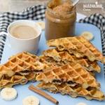 Friganele gaufre umplute / Stuffed french toast waffles