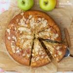 Prajitura cu mere si iaurt / Apple yogurt cake