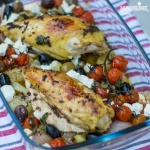 Pui grecesc la tava / Greek chicken bake