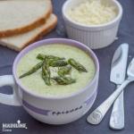 Supa crema de sparanghel / Cream of asparagus soup
