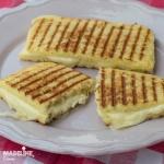 Sandvis cald keto cu branza / Keto grilled cheese