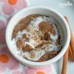 Prajitura cu scortisoara la cana / Cinnamon mug cake