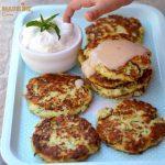 Chiftelute de dovlecei cu branza / Zucchini cheese fritters