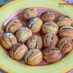 Nuci umplute keto / Keto walnut shaped cookies