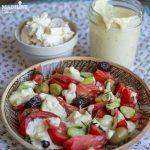 Dressing cu branza pentru salata / Cheese salad dressing